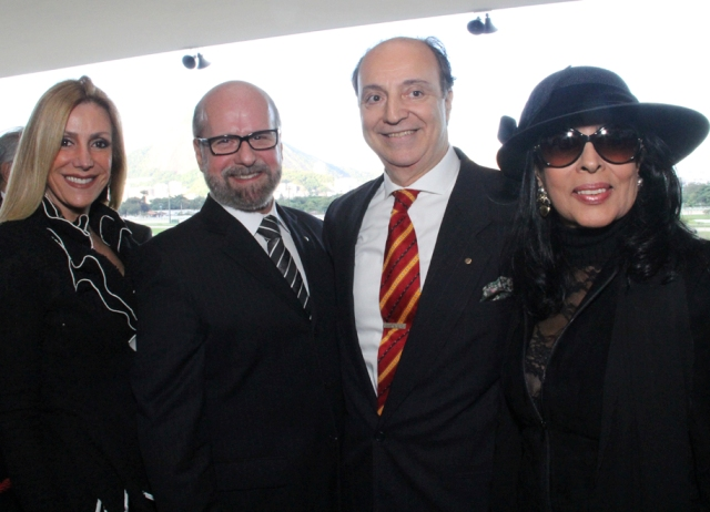 Isabela e Luiz Felipe Francisco, Mauro Câmara e Luiza de Mendonça