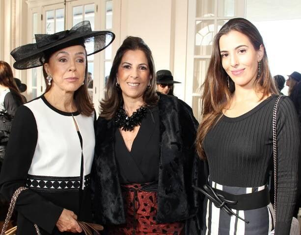 Liana Marcantonio, Helena e Elisa Taunay