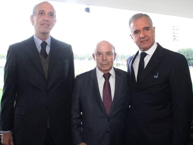 Luiz Alfredo Taunay, Francisco Donnelles e Júlio Lopes