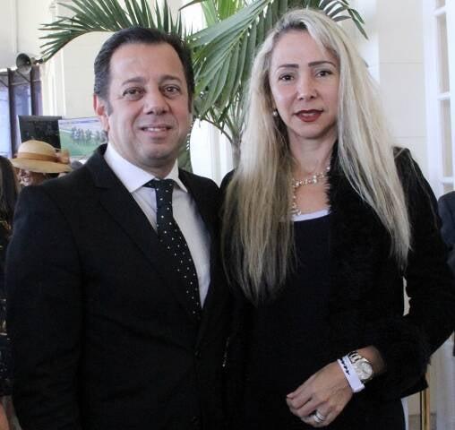 Marcelo Moreyra e Claudia Cataldi