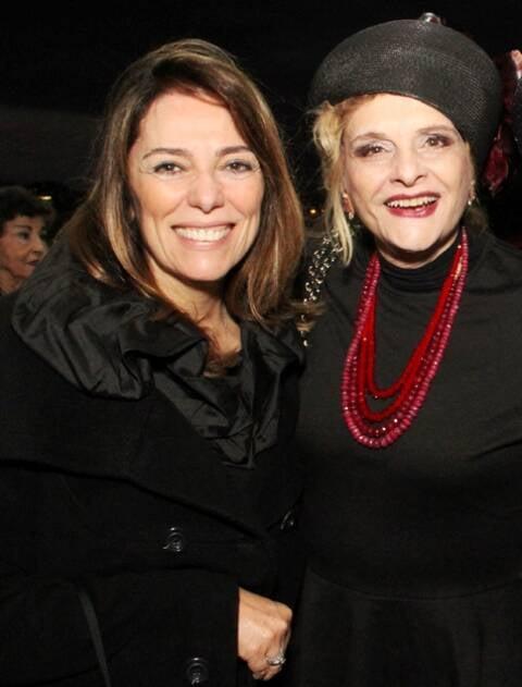 Marcia Martins e Maria Vitória Riera