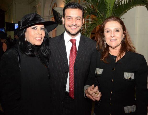 Maria Luiza de Mendonça, Roberto Padula e Cristina Oswaldo Cruz