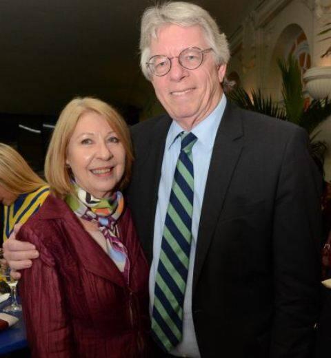 Maria Luz e o cônsul da Alemanha, Harald Klein