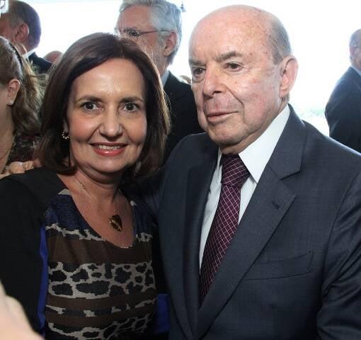 Martha Rocha e Francisco Dornelles