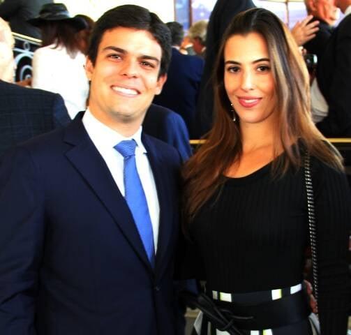 Matheus Gouvêa e Elisa Taunay