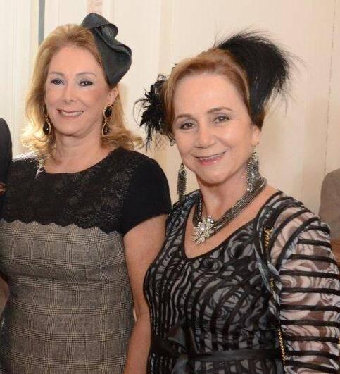 Sheyla Linhares Barros e Cintia Tenorio