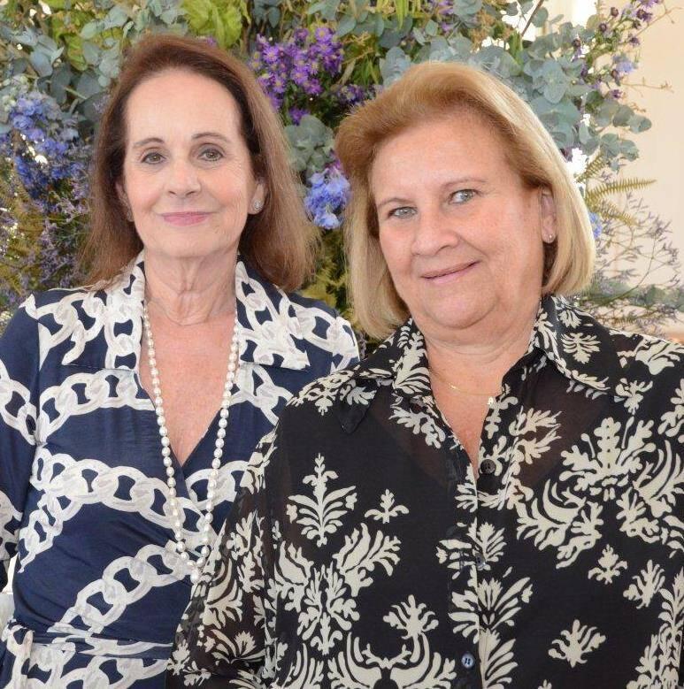 Gloria Issa e Ana Maria Storino