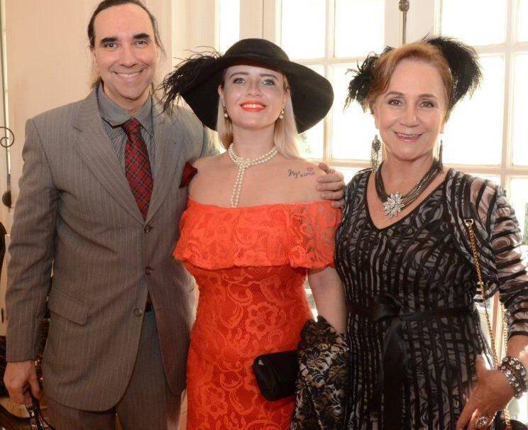 Helcio Hime, Camilla Carvalho e Cintia Tenorio