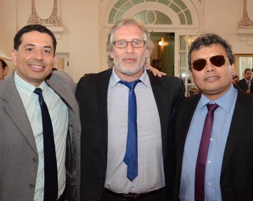 Julian Bemal, Jorge Silecki e Jorge Farfan