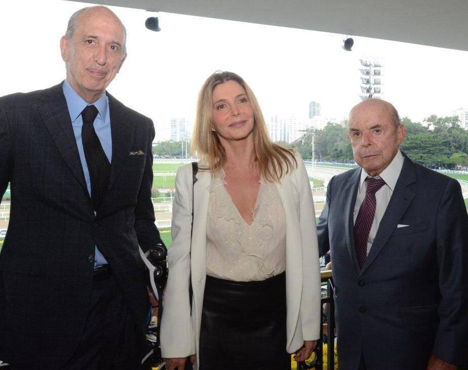 Luiz Alfredo Taunay, Maria Padilha e Francisco Dornelles