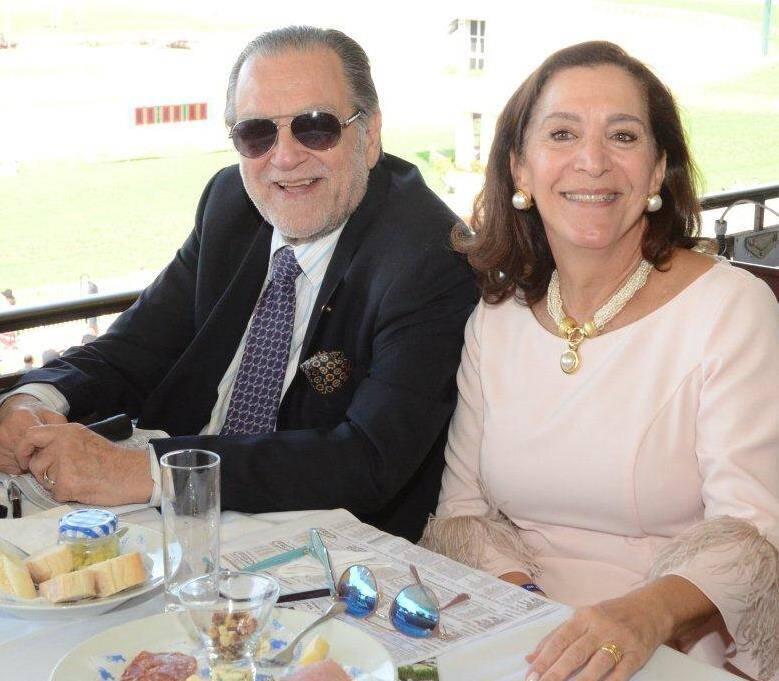 O casal Maísa e Luiz Atonio Severiano Ribeiro