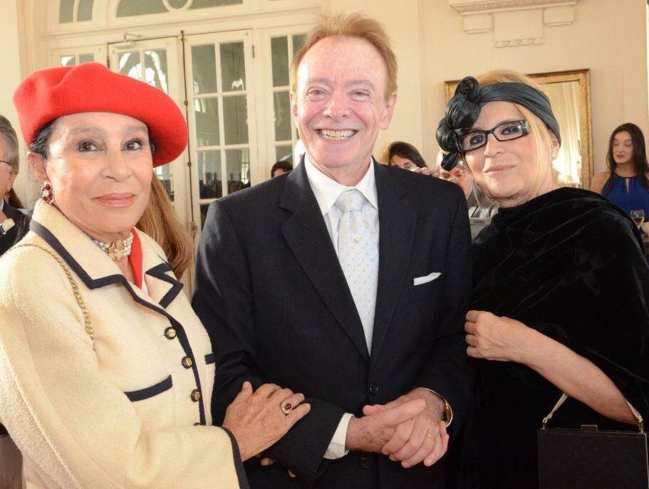Myriam Gagliardi, Paulo Roberto Barragat e Fátima Martins