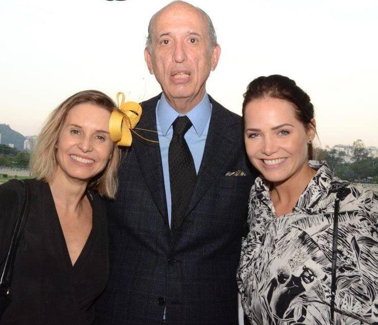 Paula Burlamaqui, Luiz Alfredo Taunay e Letícia Colin