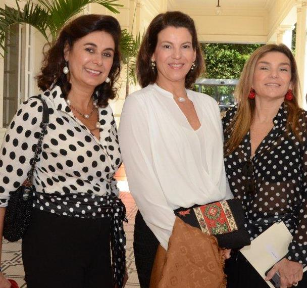 Vera Mollica Silva, Line Gama e Olga Oakim