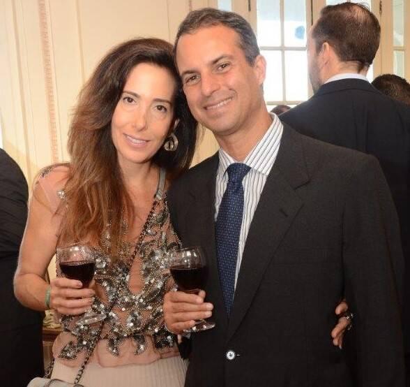 Carol Barbará e Roberto Falcão  /Foto: Marco Rodrigues