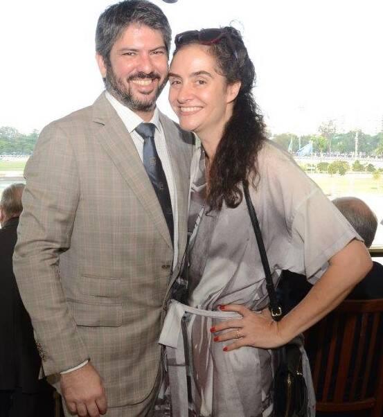 Fábio Prado e Alessa Migani  /Foto: Marco Rodrigues
