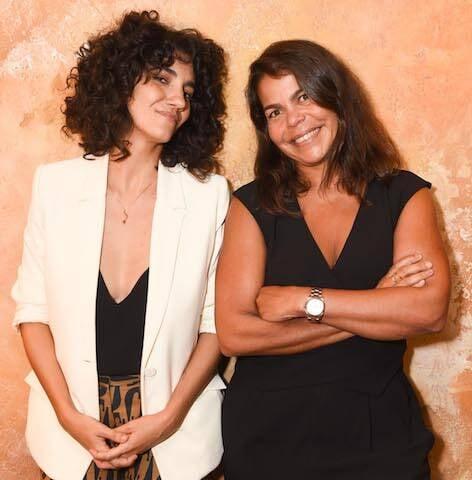 Antônia Pellegrino e Daniela Falcão