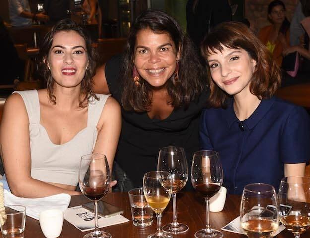 Isabel Wilker, Daniela Falcão e Giselle Baptista