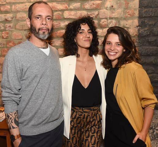 Ricardo Cruz, Antônia Pellegrino e Bruna Linzmeyer