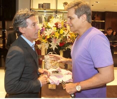 Roberto Paz e Edson Celulari