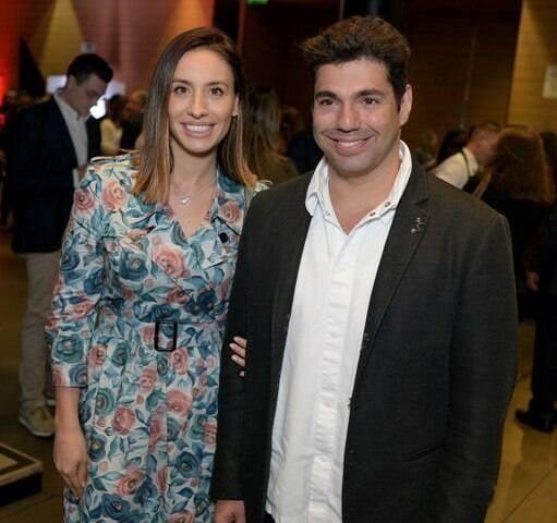 Cecília Aldaz e Felipe Bronze