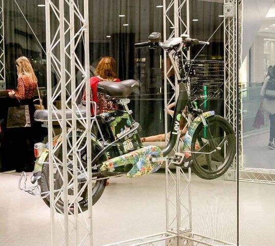 Bicicleta elétrica Rock in Rio