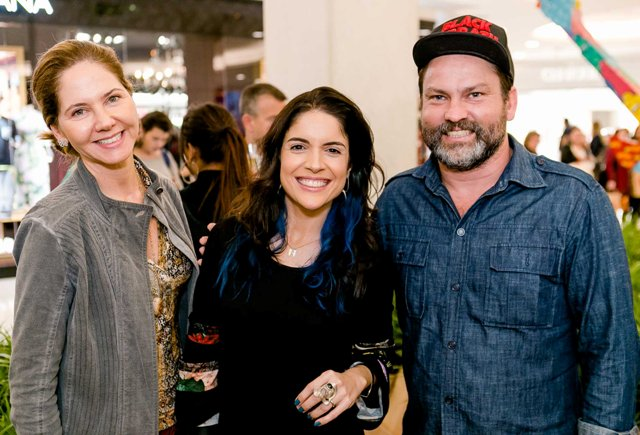 Beth Garcia, Roberta Medina e Toz