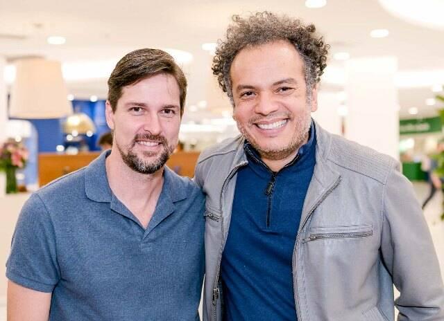 Luis Justo e Zé Ricardo