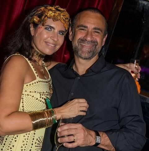 Cristine Ferraciu e Ricardo Henriques