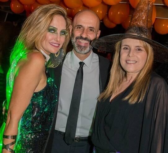 Georgia Buffara, Claudio Gomes e Mônica Góes