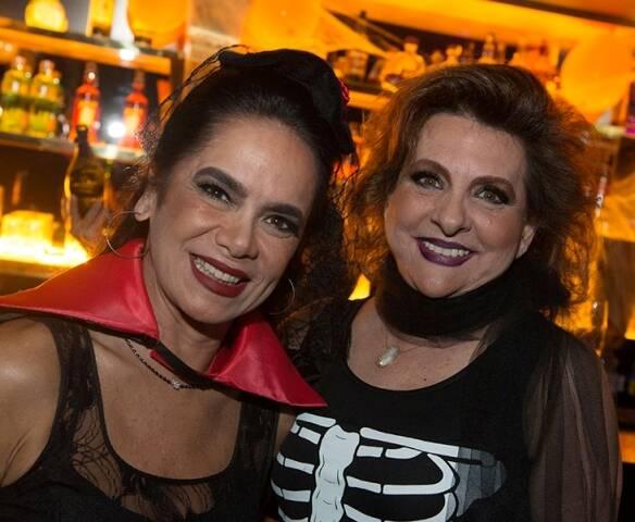 Karla Vilar e Beatriz Noval
