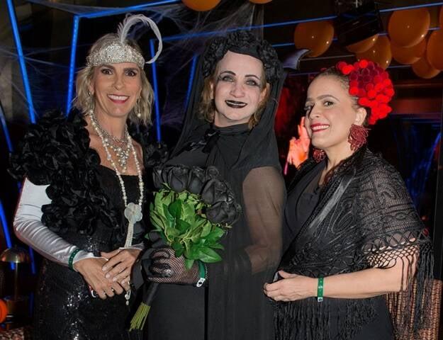 Patricia Ibeas, Tita Chami e Marcia Kemp