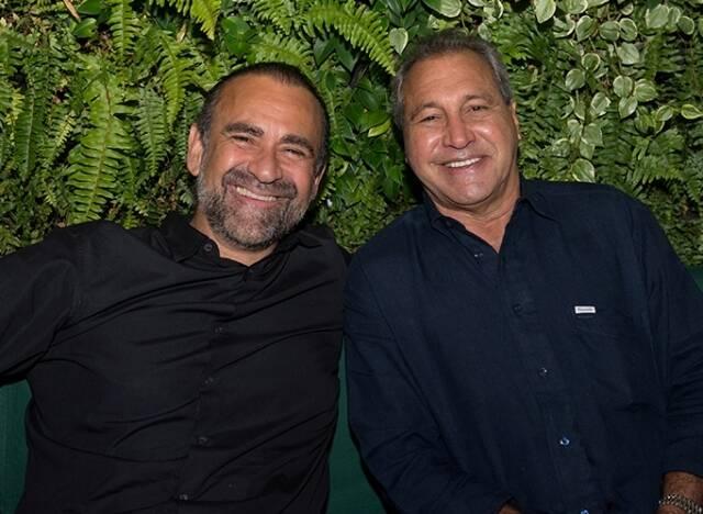 Ricardo Henriques e Miguel Buffara