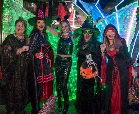 Suzana Portella, Inês de Castro, Georgia Buffara, Eliana Moura e Andrea Schuback