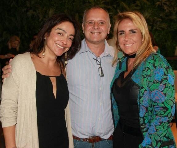 Ana Paula Iespa, Chico Vartulli e Patricia Hall