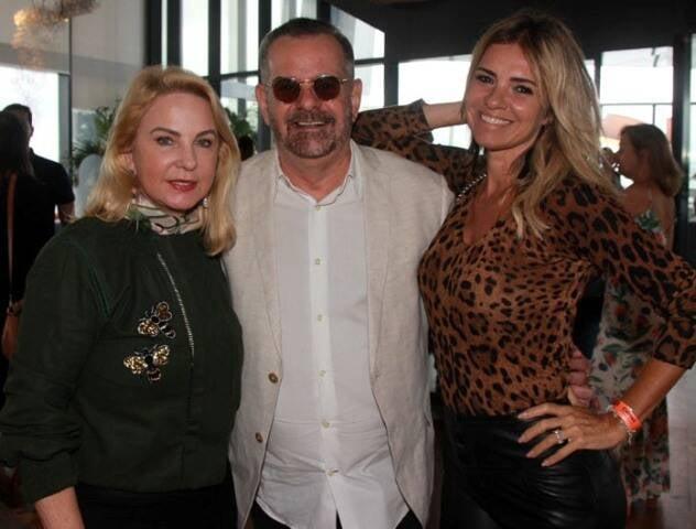 Solange Medina, Eduardo Machado e Márcia Meira