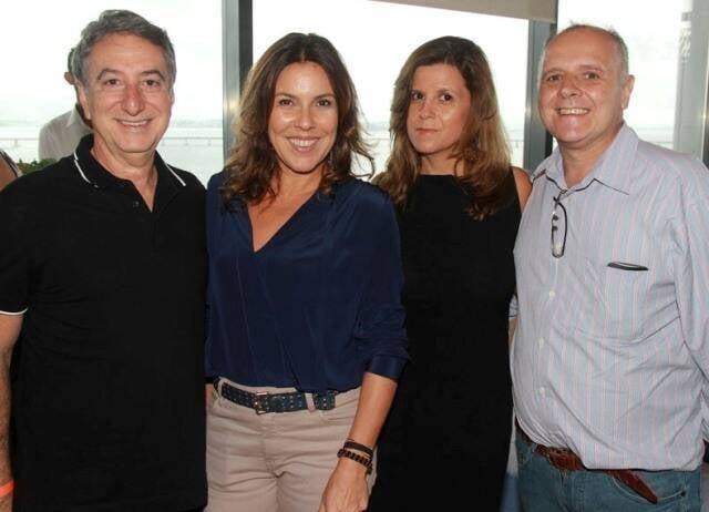 Salomão Crosman, Andréa Duarte, Bárbara Machado e Chico Vartulli