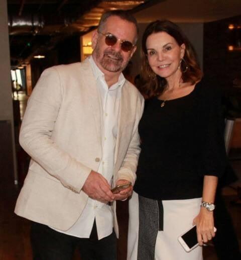 Eduardo Machado e Patricia Mayer
