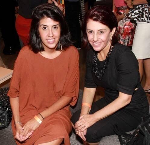 Joana Latini e Márcia Assis