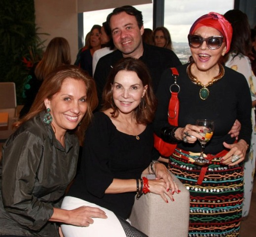 Bebel Sampaio, Patricia Mayer, Tânia Caldas e Gustavo Gonçalves