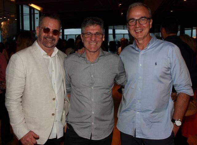 Eduardo Machado, Jaime Herszenhaut e Jorge Delmas