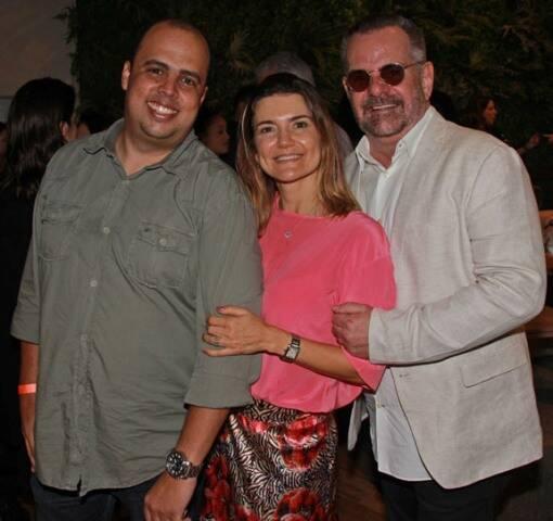 Murilo Marreco, Flávia Marcolini e Eduardo Machado