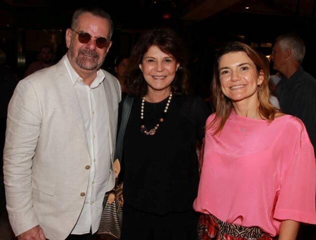 Eduardo Machado, Paula Neder e Flávia Marcolini