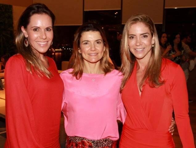 Tatiana Lopes, Flávia Marcolini e Tatiana Mendes