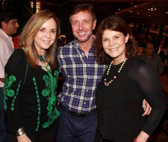 Eliane Couto, Nando Grabowsky e Paula Neder