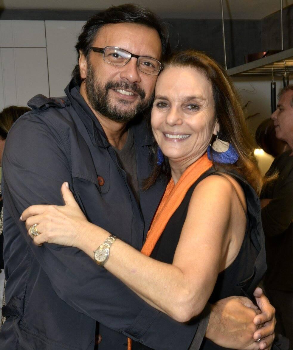 Napoleão Lacerda e Patricia Secco