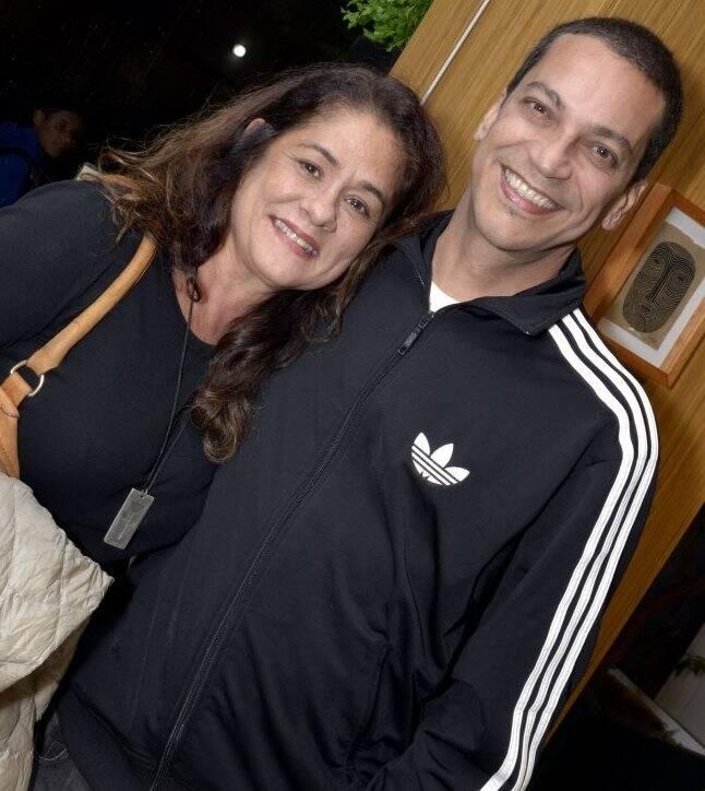 Christiana Fontes e Luiz Mena Barreto