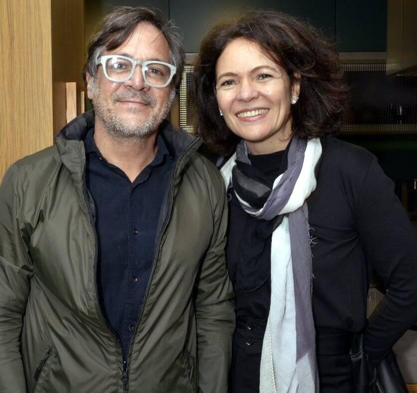 Paco Rodrigues e Roberta Damasceno