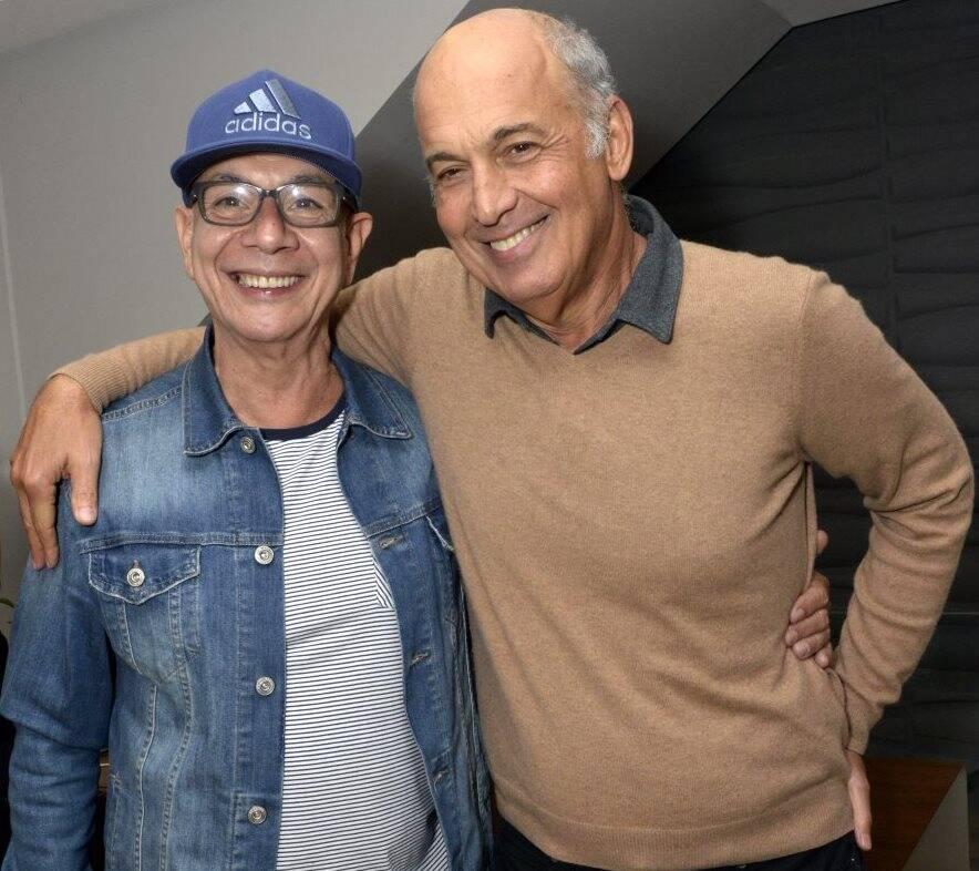 Caco Borges e Maurício Prochnick