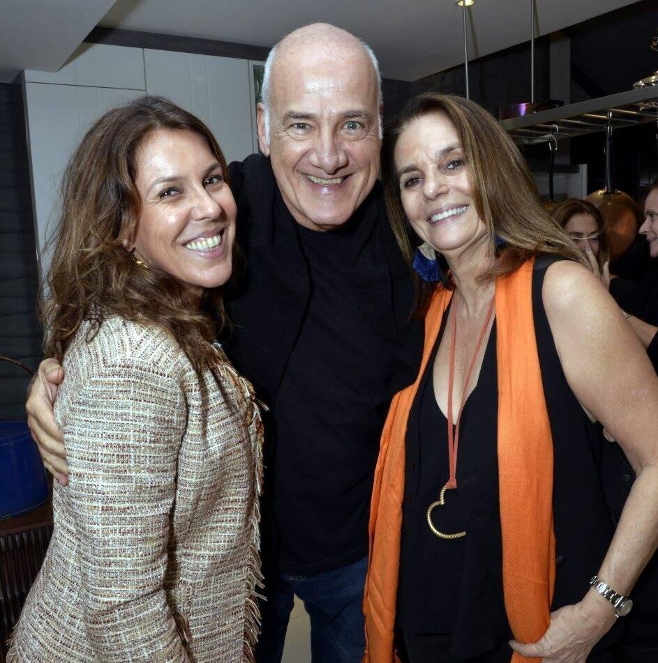 Andréa Neves Duarte, Marcelo Itagiba e Patricia Secco